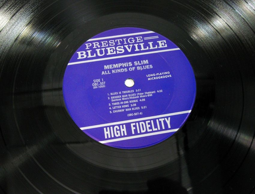 Photo de l'article: Bluesville Records